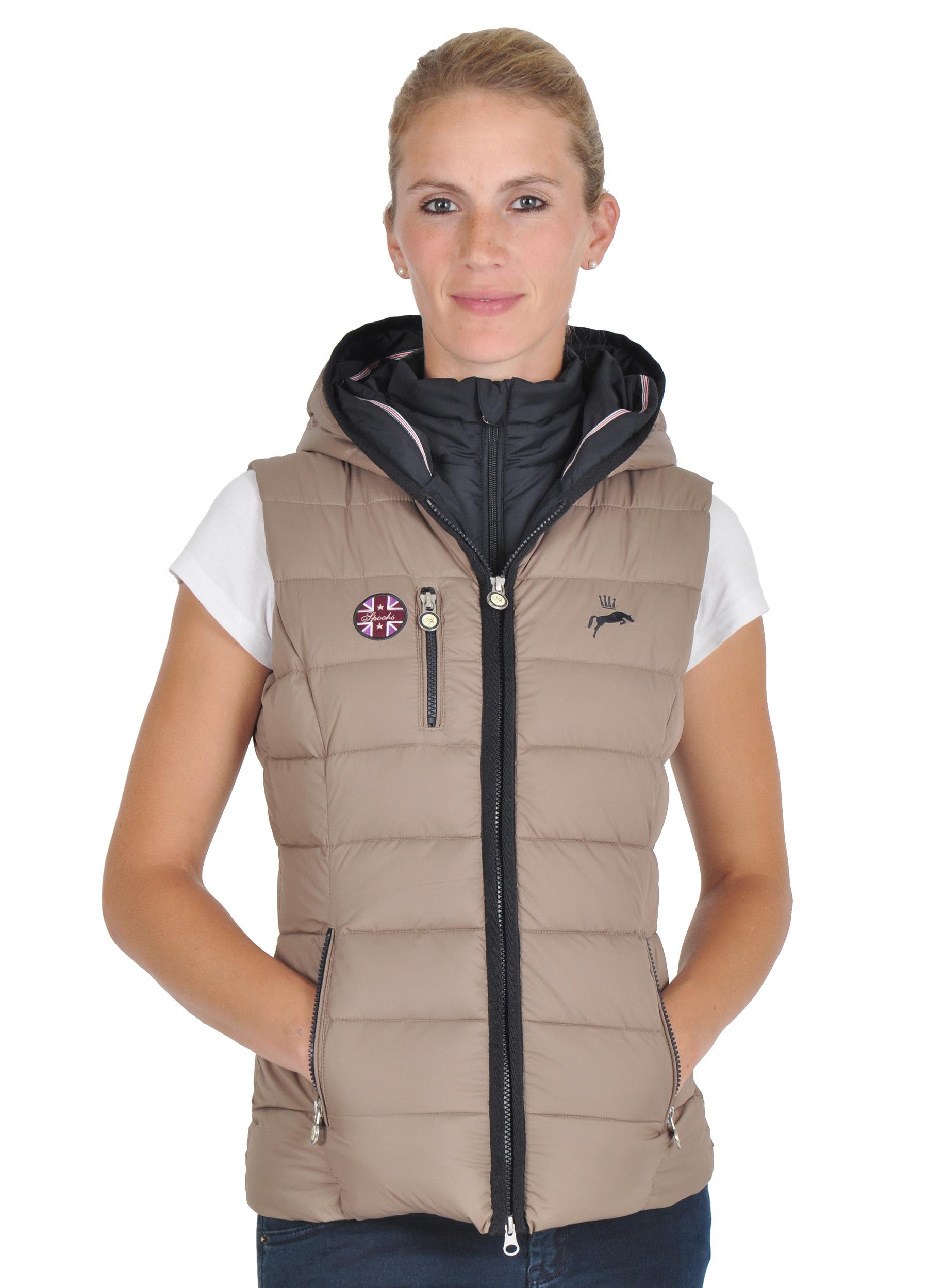 begrenzte garantie heiße Angebote stabile Qualität Spooks Double Vest jule rot Reitweste weste Reitbekleidung ...