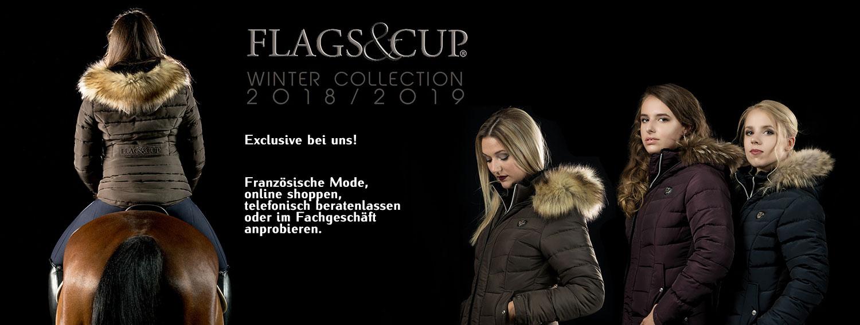 Flags & Cup Winterreitjacken